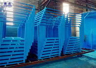 Customized Steel Stacking Racks Low Carbon Steel Collapsible ISO Certificated