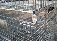 Collapsible Storage Wire Container Storage Cages For Warehouse / Workshop