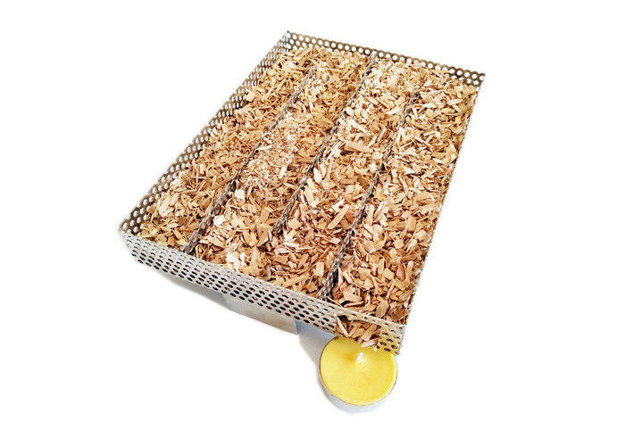 DIY Perforated Type Wood Chip Smoke Generator For Outdoor BBQ Tools